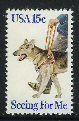 ESTADOS UNIDOS/USA 1979 MNH SC.1787 Eye dogs