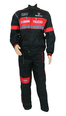 SCANIA Overalls Embroidered Logo on Front and Back size M L XL XXL XXXL