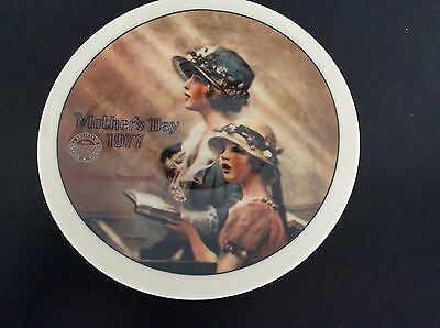 1977 Knowles Faith by Norman Rockwell Collectors Plate