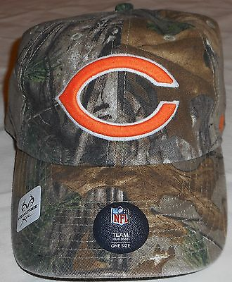 timeless design 39d0c 1299f Chicago Bears Realtree `47 Brand Men s Hat Cap One Size Camo Nfl Team  Headwear