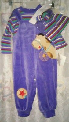 Infant boys size: 18 months 3-piece outfit.