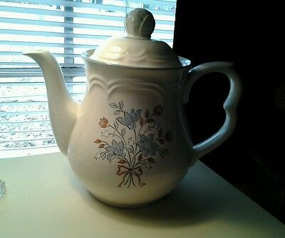 Cordella Collection Coffee Tea Pot Stoneware Japan Burnet