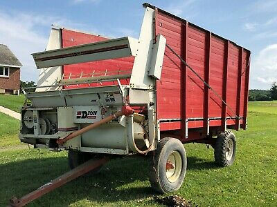 Dion 1016Se Self-Unloading Box Wagon Forage Silage