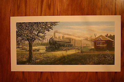 The Crossing James Lumbers Artist Signed & Numbered Limited Collectors Edition
