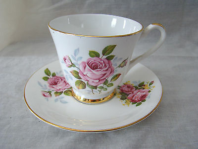Imperial Fine Bone China Cup and Saucer - Bright Floral Design 101520