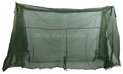US Military Issue Mosquito Net (Mosquito Bar) Insect Barrier Field Net for Cot