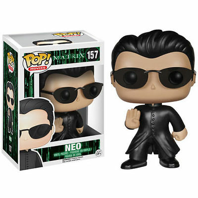 "The Matrix Neo 3.75"" Vinyl Figure Pop Movies Brand New Funko"