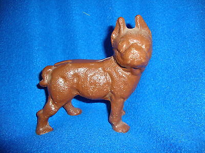Vintage Cast Iron Boxer Paperweight