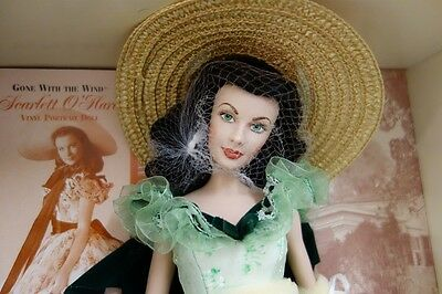 Franklin Mint Scarlett O'Hara vinyl portrait doll from the Gone with the Wind