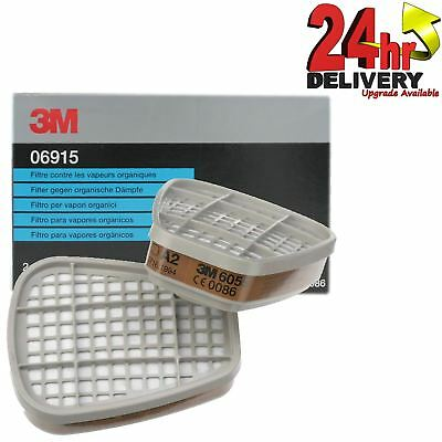 3M 06915 Pair of Gas/Vapour Filters 06000/07500 Series Spray Paint Respirators