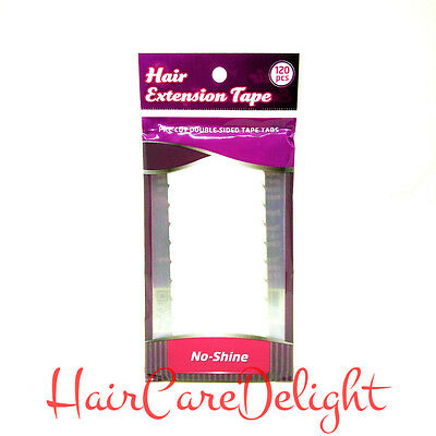 Walker No Shine Hair Extension Tape Weft Weave Tabs Pre-Cut Strips Double Sided