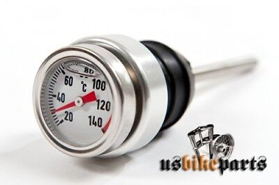 Oil dip stick temperature for Harley Davidson custom motorcycles new  79-2003