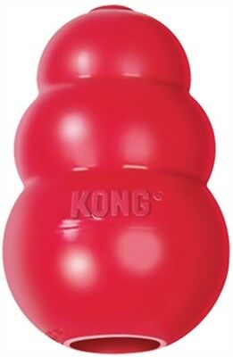 KONG CLASSIC RED Original Rubber Best  Dog Chew Puppy Treat Fetch Toy~PICK SIZE