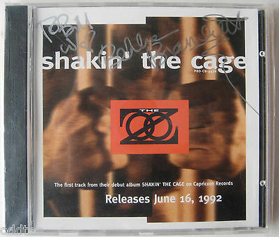 THE ZOO- Mick Fleetwood-  Shakin' The Cage Promo CD SIGNED by Bekka Bramlett
