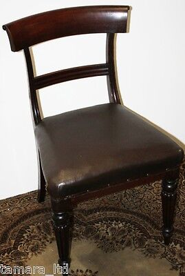 Antique 19th C Mahogany Dining Chair  - FREE DELIVERY [PL703]