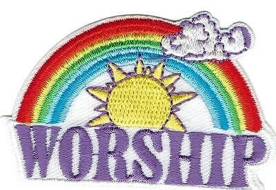 Girl Boy Cub WORSHIP Church Prayer Fun Patches Crests Badges SCOUT GUIDE Service
