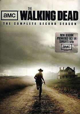 The Walking Dead: The Complete Second Season 2 (DVD 2012)~FREE SHIPPING