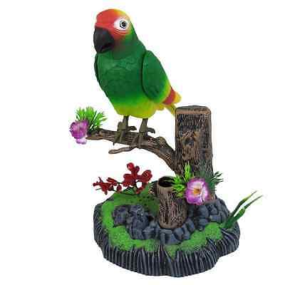 Happy Bird Electronic Parrot,Singing, Moving Toy For Kids( Buy two