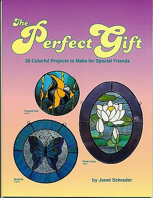 The Perfect Gift Stained Glass Pattern Book, Books