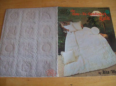 1982 ASON The How To Candlewick Quilt Booklet Q-401 By Rita Weiss
