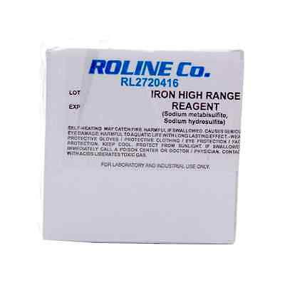 25 x Milwaukee RL2720416 High Range Iron Reagent Sachets
