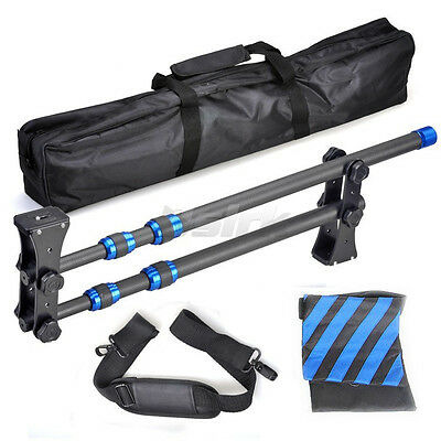 Carbon Fiber jib crane Portable Pro DSLR Video Camera Crane Jib Arm for Video