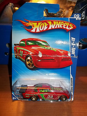 """2009 Hot Wheels #165 - """"At-A-Tude""""  - Modified Rides 09/10 - Carded"""
