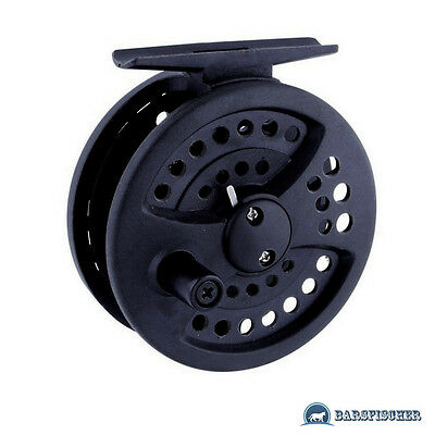 Robinson First Cast Graphit Fliegenrolle Modell 5-6 / 6-7, Fly Fishing Reel Neu