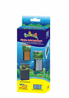 1 X Aquarium Filter Spare Frf-Lgct Replacement Media Fish R Fun 601, 611, 661