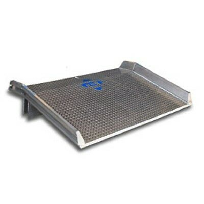 NEW! Aluminum Dock Board with Welded Aluminum Curb 60x72 10,000 Lb. Cap!!