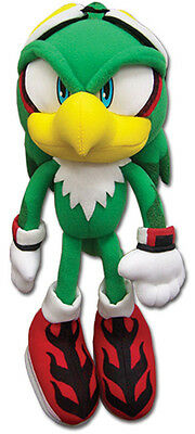"""Official Sonic the Hedgehog Plush Doll ~ 8"""" Jet the Hawk (GE-52524) Soft Toy"""
