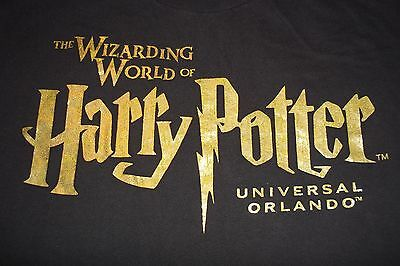 Wizarding World Of Harry Potter Universal Orlando T-Shirt Mens Womens Large