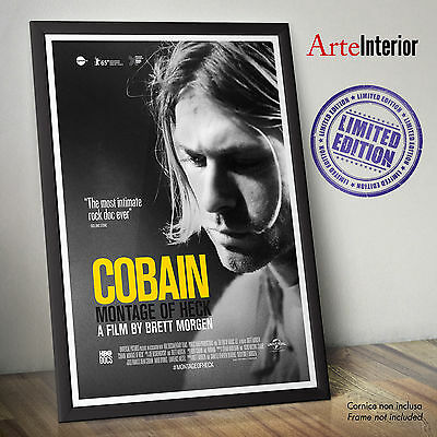 Kurt Cobain: Montage of Heck - DOC HBO POSTER - Stampa FINE ART