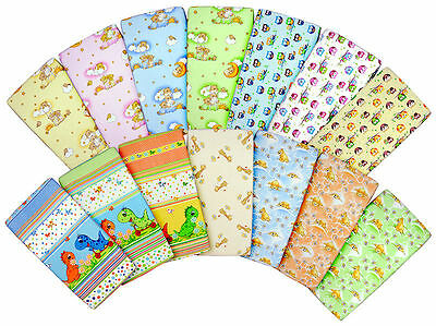 BABY COT SHEET 140x70 120x60 90x40 100% COTTON FITTED PRINTED COLOURFUL NURSERY