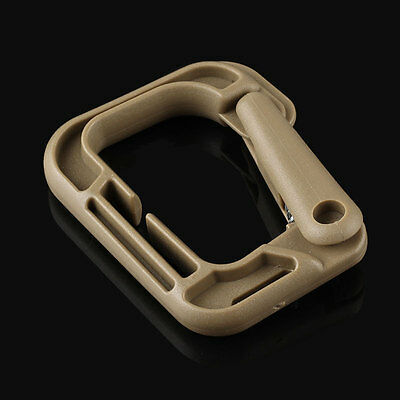 The hanging buckle, plastic steel material, outdoor use more widely, for Molly s