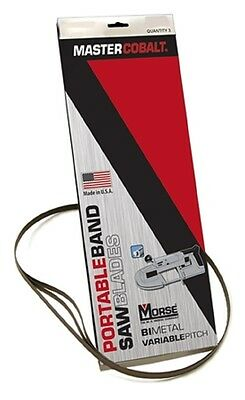 MK Morse ZWEP322024MC 32-7/8 x 20/24 tpi Bi-Metal Portable Band Saw Blade 3 pk