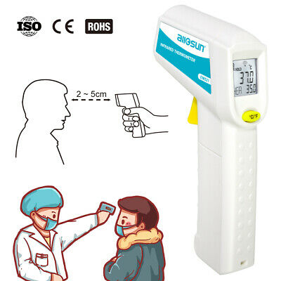 Digital Infrared Thermometer Non-contact LCD Laser Temperature Gun Handheld