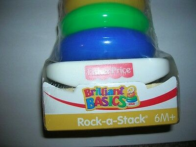 Fisher Price Rock-a-Stack 2006 NIB 6 months