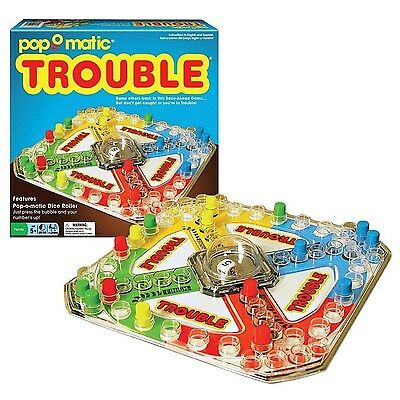 Classic Trouble Board Game by Winning Moves Games (1176) BRAND NEW