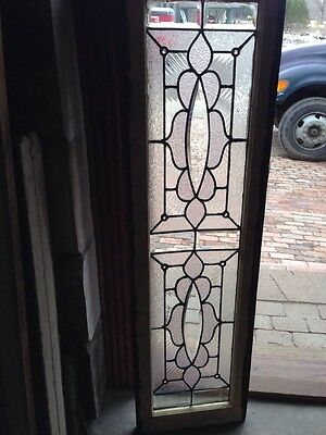 Sg 197 All Beveled Center Oval With Jewel Transom