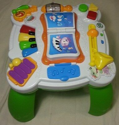 Leapfrog Learn Groove Activity Table Baby Toy English Spanish Music Development