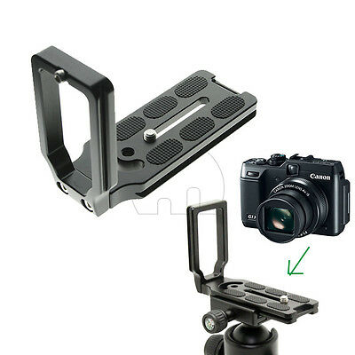 Quick Release Plate L Bracket for Canon 5D Mark II III Camera Benro Arca Swiss