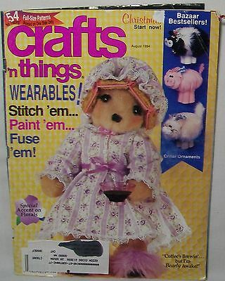 Crafts 'N Things Magazine August 1994