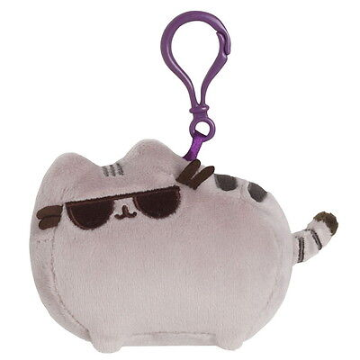 NEW OFFICIAL GUND Pusheen The Cat Sunglasses Plush Soft Clip On 4048887