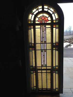 # 4 Of 4  Youngstown's Finest Antique Stained Glass Windows