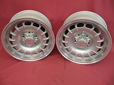 Two (2) Restored ATS German Alloy Wheels 15 x 7 KBA40396 Mercedes-Benz