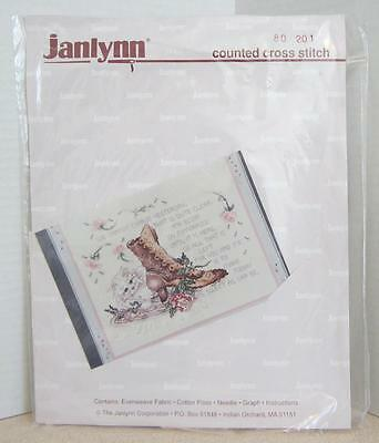 JANLYNN - TODAY - COUNTED CROSS STITCH  KIT - MAKE TODAY AS SWEET AS CAN BE