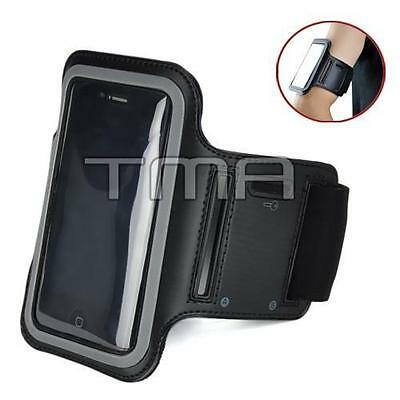 Neoprene Sports Gym Running Arm Armband Case iPod 5 5th 6th Generation - Black