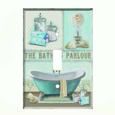 Switch Plate Wall Cover Bathroom Decor, Bathroom Light Switch Covers