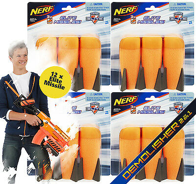 Nerf N-Strike Elite XD 12 Missile Demolisher Multipack - 12 Nerf Raketen